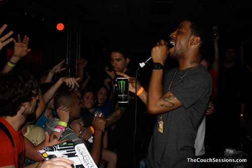 KID Cudi at the Mad Decent Party