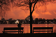 1,2,3 (arminMarten) Tags: longexposure nightphotography night canon lowlight nacht hamburg dslr alster telephotolens nachtaufnahme  ef70300mmisusm 400d canon400d teleobjectiv   ausenalster armanh