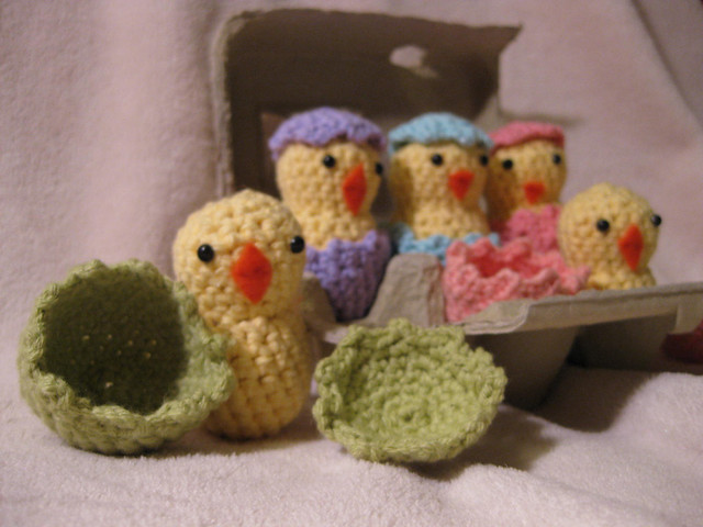 Ravelry Hatching Easter Chicks Pattern By Kim