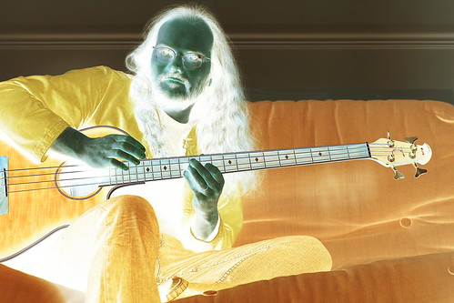 Yellow Bassist