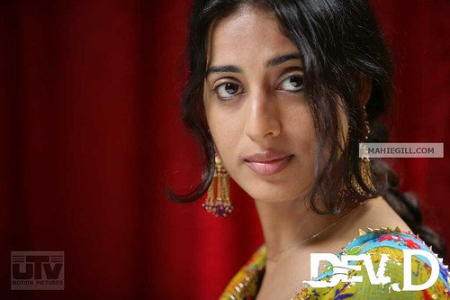 Dev D poster with Mahi Gill