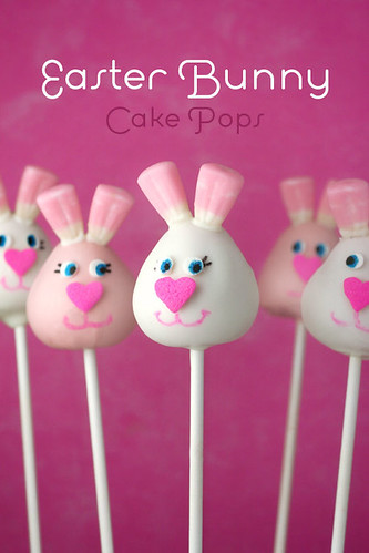 easter bunny cake pictures. Easter Bunny Cake Pops