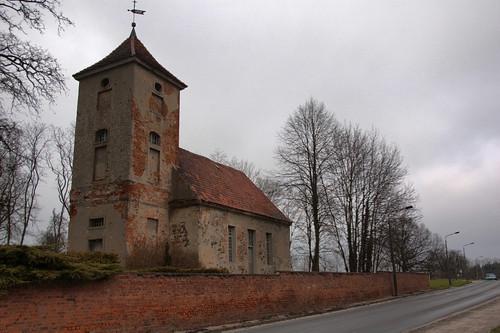 Kirche Ruhlsdorf Strassenansicht