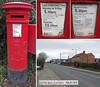 Photo of DL8 123: EviiR pillar box, Bedale. The one I 'vandalised'