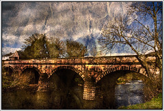The Stone Bridge At Coagh (Glenbourne At Home) Tags: bridge colour textures northernireland layers stonebridge archbridge coagh tonemapping cotyrone colondonderry aplusphoto ballinderryriver multimegashot vanagram