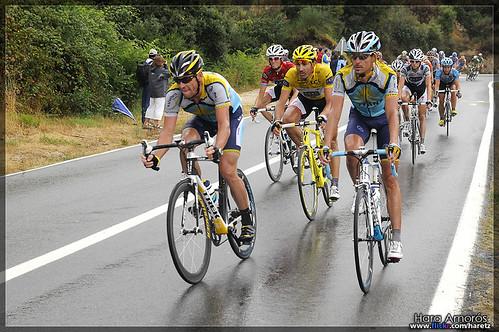 Lance Armstrong & Fabian Cancellara - Tour de France 2009, stage 6 Barcelona (La Conreria)