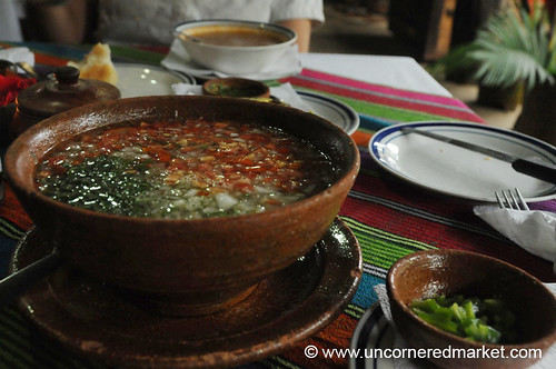 Flavorful Soup in El Salvador