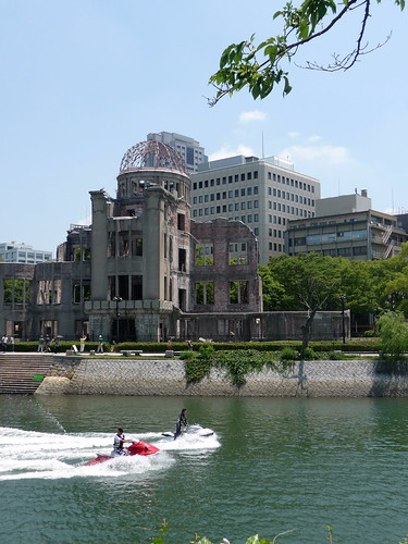 A-Bomb Dome with Jet Skis