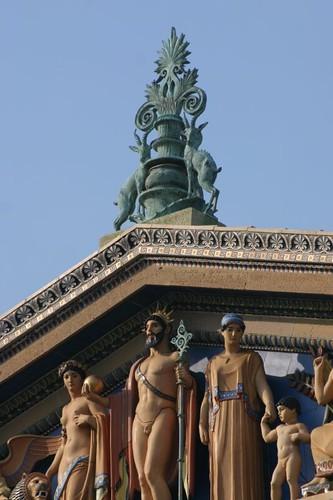 Detail. Philadelphia Museum of Art, East Entrance.
