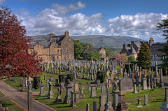 Stirling Cemetery, Scotland (**Anik Messier**) Tags: cemetery graveyard scotland peace stirling valley tombstones tombs tranquillity cimetire kirkyard cosse historiccemetery mywinners anawesomeshot theperfectphotographer stirlingcemetery welcomeuk