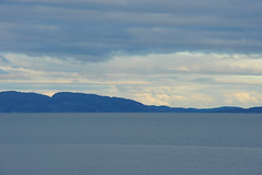 Over the Varangerfjord (GeirB,) Tags: blue sea sky seascape norway landscape norge nikon norwegen fjord nikkor fiord nordnorge finnmark vads varanger northernnorway visitnorway vadsoe dragondaggerphoto