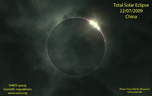 total solar eclipse from China