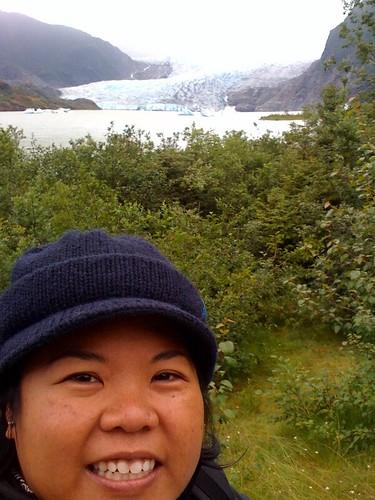 Me @ Mendenhall Glacier, Juneau