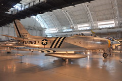 US Air Force - North American F-86A Sabre - Air and Space Smithsonian - Udvar Hazy Center - July 29th, 2009 1276 RT (TVL1970) Tags: airplane smithsonian iad nikon aircraft aviation sabre ge usaf nationalairandspacemuseum usairforce dullesairport airandspacemuseum generalelectric smithsonianairandspacemuseum f86 unitedstatesairforce stevenfudvarhazycenter northamerican nasm sabrejet d90 udvarhazycenter naa northamericanaviation dullesinternationalairport f86sabre f86a udvarhazyannex northamericanf86sabre washingtondullesinternationalairport northamericanf86 nikond90 j47 f86asabre nikkor18105mmvr 18105mmvr generalelectricj47