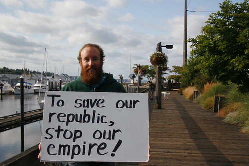 To Save Our Republic: Stop Our Empire!