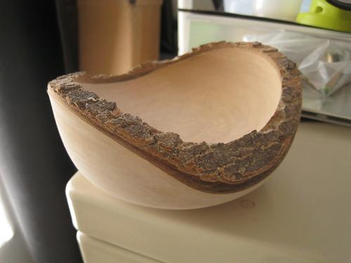 Jacaranda natural edge bowl