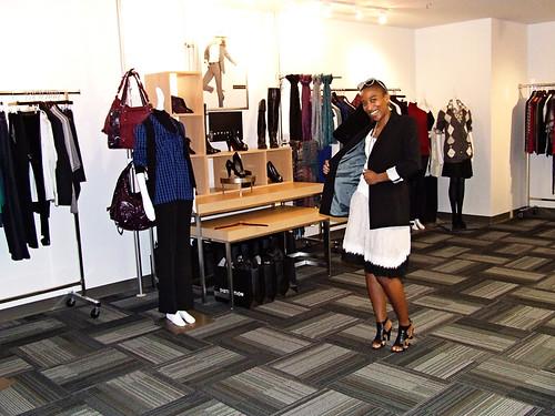 Anita in the SEARS media room