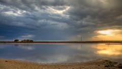 LAGUNA-CALDERAS (URIEL CORONADO) Tags: sunset mxico atardecer hdr cs4 sanluispotosi photomatix salinasdehidalgo pilasdesal urielcoronado canoneost1i