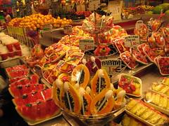 market (llamatofu) Tags: barcelona color fruits market laboqueria mercatdesantjosep