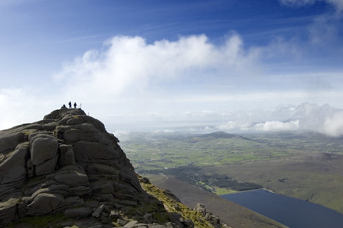 On The Tor (Slieve Binnian)