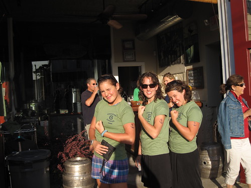 Click on this picture for more images of us at Greenport Harbor Brewing Co