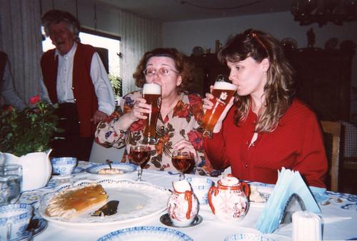 Beers in Lemgo, Germany with Herr Jeshke