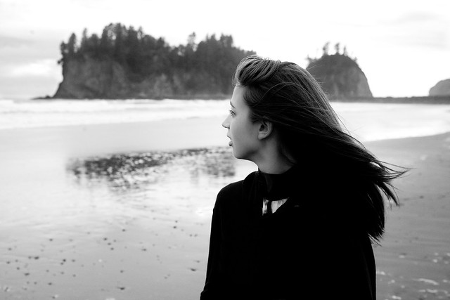 Jenna at La Push