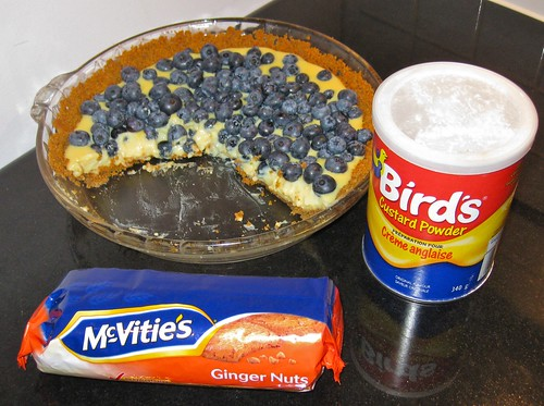 The Pie, along with some of the ingredients