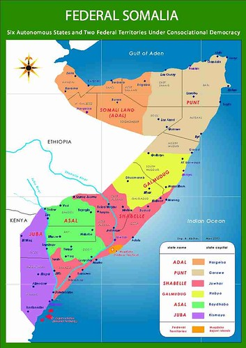 The Future Somalia Map Endorsed By Somalis and The World SomaliNet