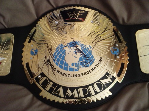 WWF Attitude era Heavyweight Title Belt