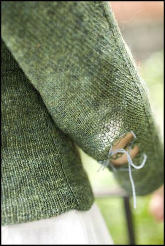 EZ's Green Sweater