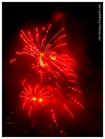 Brisbane River Festival 2009: Fireworks