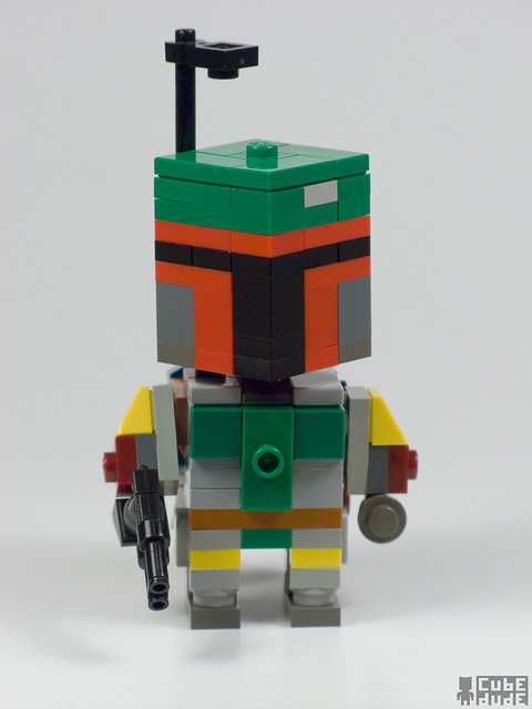 CubeDude Boba Fett