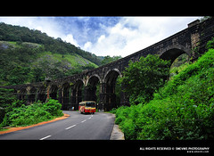 Thenmala (Smevin Paul - Thrisookaran !! www.smevin.com) Tags: bridge india mountain monument river paul photography nikon highway arch technology photos district colonial engineering railway kerala national era rails historical british meter 13 gauge remains kollam quilon palam broadgauge thenmala smevin smevinpaul d40x kannara malayalikkoottam smevins thrisookaran pathimoonnu kazhuthurutti kollamshenkottai dicoverplanet
