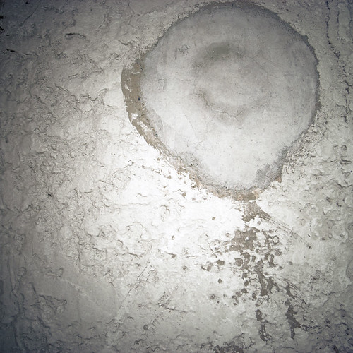 Zen Circle in Plaster