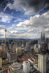 (EXPLORED) Kuala Lumpur.. (Hamad A. Alajmi - www.Q8italk.com) Tags: building tower clouds square hotel twins cityscape view sigma timessquare malaysia times kuala kualalumpur 1020 hamad lumpur 50d flickrsbest canon50d impressedbeauty alajmi 3twe hamadalajmi alfrij 3twealfrij
