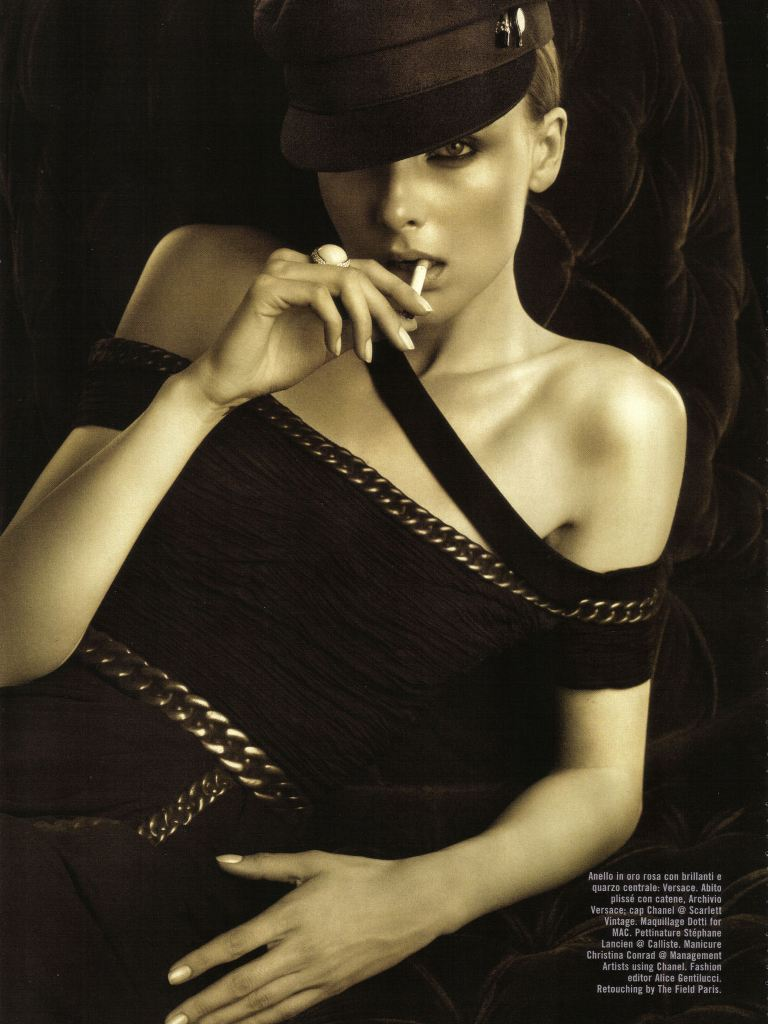 Snejana Onopka by Michelangelo Di Battista for Vogue Italia October 2009 3