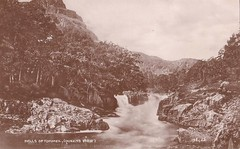 Pitlochry, Falls Of Tummel (Queen's View)