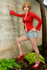 _DSC2641 (Dober Man) Tags: beautiful model woman models pretty mm1251659 lady women modelmayhem sexy girls girl redblouse redshirt bluejeans jeans blue denim legs sexylegs bluejean mm486447