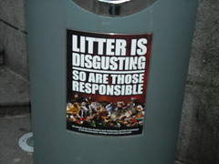 Litter is Disgusting