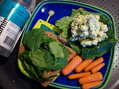 Lunch (Eris Kallisti) Tags: lunch avocado salad vegan healthy tofu sandwich yumyum
