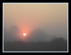 Sunrise 004 (m00nscape) Tags: morning sun mist nature sunshine sunrise haze hazy simple atmospheric bad morning morning mist poor misty composition m00nscape