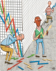 Artist Captures Recession Times...