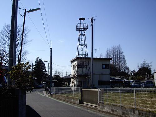 片山の火の見櫓(新座市)