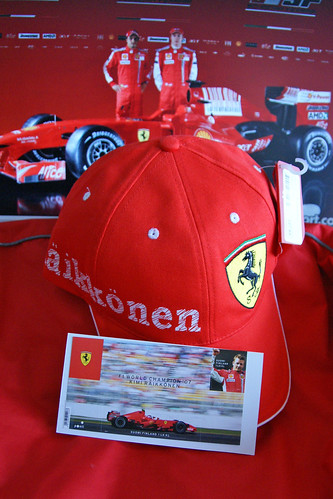Kimi baseball cap and stamps