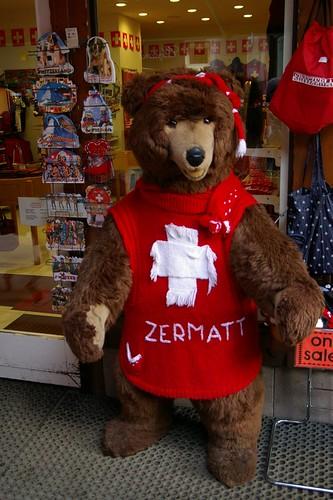 Zermatt熊