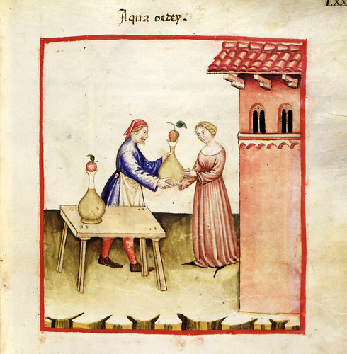 024- Agua de cebada-TACUINUM SANITATIS- Biblioteca Casanetense Ms. 4182