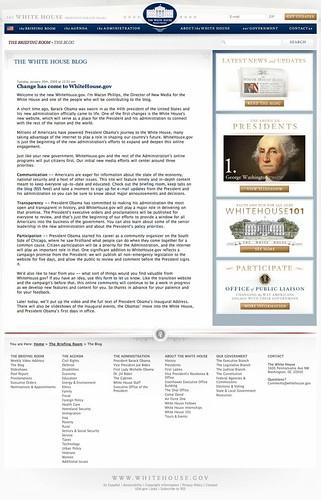 Blog de la Casa Blanca