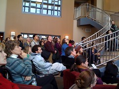 The iSchool watches the inauguration