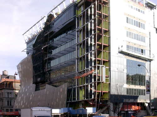 a daily dose of architecture: cooper union builds